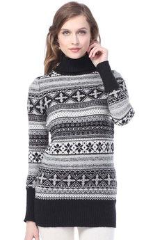 Длинный женский свитер VIAGGIO