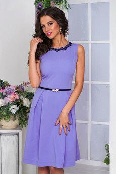Новинка: платье фиалкового цвета Angela Ricci